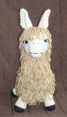 PDF Llama Crochet Pattern Digital Download by ScareCrowOriginals