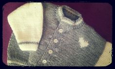 Looking for your next project? You're going to love Baby Baseball Style Cardigan by designer Clicketyknits.