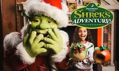 Groupon - Shrek's Adventure London: Exclusive After-Hours Experience with Souvenir Photo and £10 DreamWorks Shop Voucher (50% Off) in London. Groupon deal price: £25.50