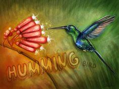 the humming bird by *PinkBunnyLilli on deviantART