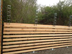 Fencing system...wonder where you can find the posts. I checked a google search for the picture...nothing.