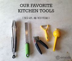eMeals Favorite Kitchen Tools that are a must have! #KItchen