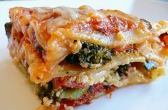This vegetarian lasagna recipe is to die for!