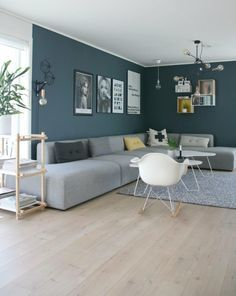 Interior Living Room Design Trends for 2019 - Interior Design Decor, Home Living Room, Living Room Color, Living Room Decor Apartment, Wall Decor Living Room, Home Decor, House Interior, Living Room Decor Gray, Living Decor