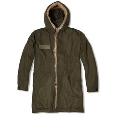 From Kanye West's collaborative collection: A.P.C. x Kanye Parka (Military Khaki)