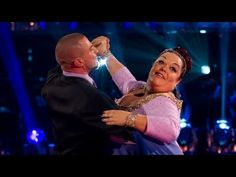Lisa Riley & Robin dance to 'Never Tear Us Apart' - Strictly Come Dancing 2012 - Week 2 - BBC One
