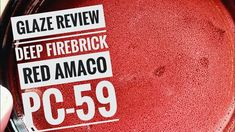 Glaze👏 review 👏 (Deep Firebrick red) Oil Spot Glaze ?! Ryan Little, Pottery Videos, Facebook Fan Page, Today Episode, Music Publishing, Glaze, Oil, Deep, Songs