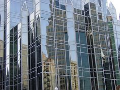 Submitted by Snakeguy:        Next time you're at Market Square take a moment and see how many different reflections you can catch off the PPG buildings.