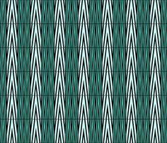chevron_emerald fabric by mimix on Spoonflower - custom fabric Custom Fabric, Spoonflower, Fabric Design, Chevron, Emerald, Abstract, Artwork, Summary, Work Of Art