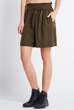 Pin for Later: 25 Pairs of Stylish Summer Shorts — That Aren't Denim Cutoffs  BCBGeneration Self-Tie Bermuda Short ($78)