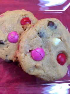 Michele's Woman Cave: Valentine's Day Monster Cookies