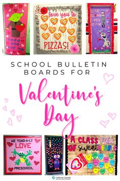 Teachers, check out these SWEET Valentine's Day bulletin board ideas! 💗💞 Valentines Day Bulletin Board, Teacher Valentine, Board Decoration, Classroom Bulletin Boards, Pick Up Lines, Kids Writing, Board Ideas, Love Letters, Fun To Be One
