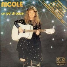 """Nicole - """"Un po´ di pace"""", italian version of """"Ein bisschen Frieden"""", the winning song of the Eurovision Song Contest 1982 from Germany"""