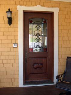 Portes Bourassa Red Cedar Door