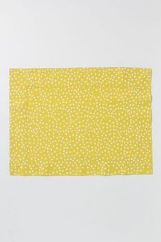 dotted placemat from Anthropologie