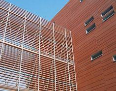 James & Taylor - Terracotta rainscreen cladding and for all your masonry needs Cinema Architecture, Architecture Details, Rainscreen Cladding, Corten Steel, Facade Design, Terracotta, Blinds, Brick, Exterior