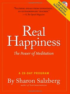 Read Now Real Happiness: The Power of Meditation: A Program, Author Sharon Salzberg Power Of Meditation, Meditation Benefits, Mindfulness Meditation, Meditation Practices, E Books, Audio Books, Good Books, Books To Read