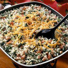 One-Dish Rice & Black-Eyed Peas Recipe from Land O'Lakes