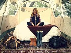Glamping Tent!