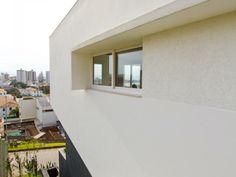 Westphal+Kosciuk Arquitetura Casa DLW Roughcasting Foto: André Moecke