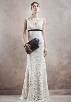 Wedding Dress of the Day: Incredibly Romantic Gowns from Divine Atelier 2014 Part 2. To see more: http://www.modwedding.com/2014/09/18/wedding-dress-day-incredibly-romantic-gowns-divine-atelier-2014-part-2/ #wedding #weddings #wedding_dress