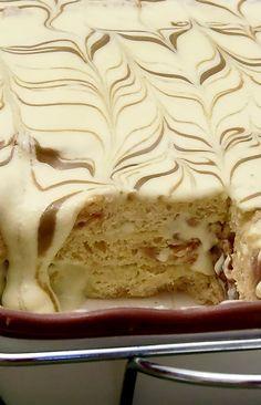 Tiramisu' di Panettone al Pistacchio , dessert facile e da congelare