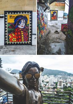 Michael Jackson Square in Favela Santa Marta, Rio de Janeiro | heneedsfood.com