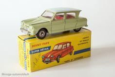 #557 Citroën 3cv ou Ami6 vert tilleul DKY F