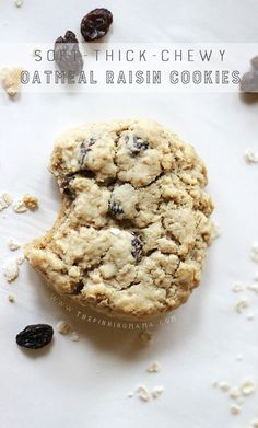 This oatmeal cookie recipe makes the softest, thickest, chewiest cookies! It is the only recipe you will ever need! By now you probably know I have a thing for thick and chewy cookies. It all star...