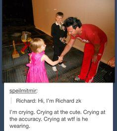 Richard introducing himself
