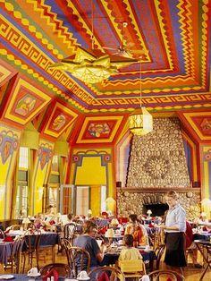 Naniboujou Lodge, Grand Marais, Minnesota...beautiful building but the food is horrible...