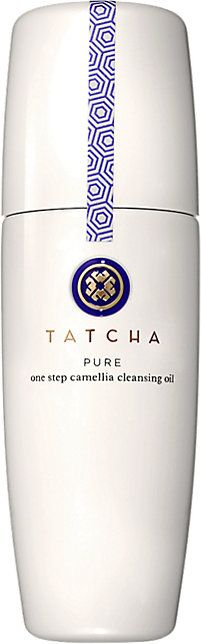 Tatcha Pure: One Step Camellia Cleansing Oil -  - Barneys.com. Removes makeup without stripping it. Use cleanser after like Esthetic Arts Purifying Gel Cleanser