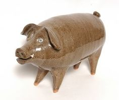 Joe Rheinhardt, Folk Pottery Pig