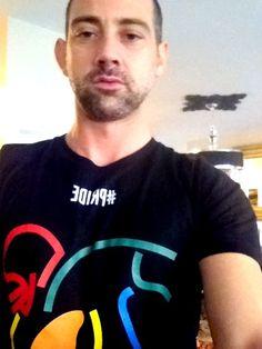 @fashion_sewing: Sporting my @NFLPA @team_gleason Tshirt. Proud our #NOLA boys for supporting #PRIDE.  http://shop.nflpa.com/LGBT-Pride-Vintage-T-Shirts-_-1883192843_PG.html
