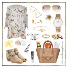 """Weekend Look - Brunch"" by virtudiaries ❤ liked on Polyvore featuring Ross-Simons, River Island, Balmain, Lee Renee, Mark & Graham, The Honest Company, Kapten & Son, 100% Pure, Balenciaga and Samsung"