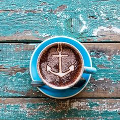 Coffee from The Boathouse, Palm Beach, Australia, via the Northern Light Blog