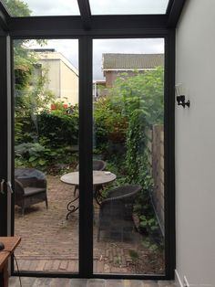 Glass Conservatory, Steel Stairs, Inside Doors, Conservatories, Steel Doors, Get Outside, Steel Frame, Classic Style, Extensions