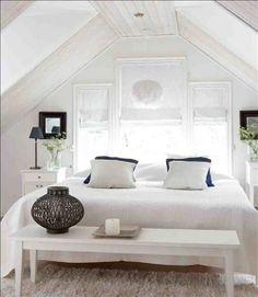 ideas y trucos para decorar la casa : Decoración en Blanco para Toda la Casa