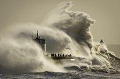 Big waves, South Wales Jan/14