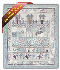 """<p>Daisy Chain Cottage</p> <p> </p> <p>Join us for 6 months of wonderful piecing and appliqué with this new Block of the Month Quilt featuring Pocketful of Daisies fabrics by Lynette Anderson. With piecing by Wendy Sheppard and appliqué by Lynette Anderson, this home and garden themed quilt is sure to be popular. </p> <p><span style=""""font-size: 10pt;"""">The program includes the pattern and fabrics to complete the quilt top and binding. </span></p>"""