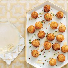 """In addition to being a delicious appetizer that feels special, these Goat Cheese Poppers with Honey make for extra awesome croutons on salads and as ""meat"" balls for vegetarian pasta dishes."" 