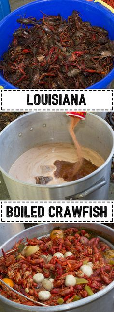 Crawfish boils are a tradition in New Orleans. It is a laissez faire event that revolves around feasting on crustaceans that come out of a rather large pot. Seafood Boil, Seafood Dishes, Seafood Recipes, New Recipes, Dinner Recipes, Favorite Recipes, Healthy Recipes, Summer Recipes, Dinner Ideas