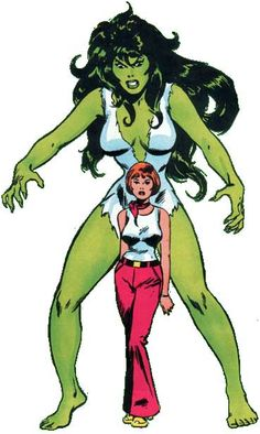 """SHE-HULK (SAVAGE): See what I mean about the """"modest"""" shirt? I'm going to try to replicate it into a dress as best I can."""