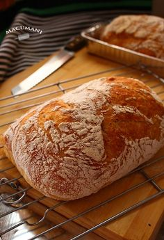 PAN SUPER FACIL SIN AMASAR ( Chapatas sin amasar ) Cooking Bread, Bread Baking, Cooking Recipes, Artisan Bread, Artisan Cheese, Mexican Bread, Gula, Salty Foods, Pan Dulce