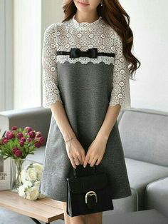 cut a lace shirt & add a loose skirt