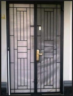 New Metal Door Grill Irons Ideas Window Grill Design Modern, Grill Door Design, Door Gate Design, Door Design Interior, Front Door Design, Window Design, Teal Front Doors, Modern Front Door, Glass Front Door