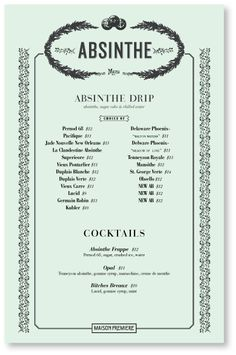 Maison Premiere - Oysters and Absinthe...dangerous