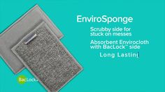 Norwex EnviroSponge: Our dual-sided and multipurpose Norwex EnviroSponge absorbs all kinds of spills and soppy messes!