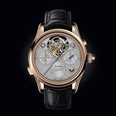¿Cuántas complicaciones muestra esta pieza? Montblanc Heritage Chronometrie ExoTourbillon Rattrapante #WatchesWorld, los relojes de tu vida.