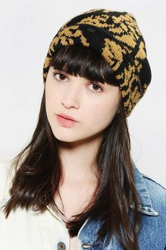 121d1b85223 OBEY Urban Jungle Beanie Online Only Urban Outfitters Hats